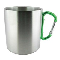 D-Ring Mug in Green